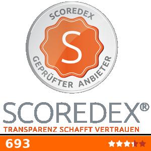 Scoredex-Siegel für Proindex Capital AG