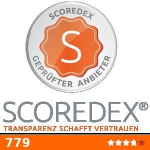 Zum Unternehmensdossier! SCOREDEX - Transparenz schafft Vertrauen!